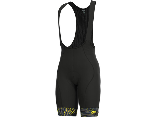 Alé Cycling Graphics PRR Sunset Bib Shorts Herr black-yellow flou